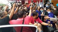 Jerinx SID Bebas dari Penjara Dijemput sang Istri