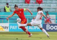 Babak Pertama Selesai, Timnas Wales vs Swiss Masih 0-0
