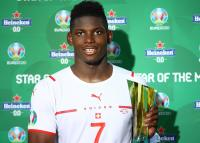 Man of The Match Timnas Wales vs Swiss: Breel Embolo