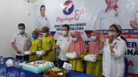 Rayakan HUT Ke-6, DPP Perindo Sumut Berikan Santunan untuk Anak Yatim