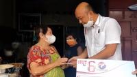 Perindo Binjai Meriahkan HUT Ke-6 dengan Bagikan Bantuan UKM
