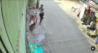 Viral Aksi Pelaku Curi Motor yang Ditinggalkan Pemiliknya dalam Keadaan Menyala