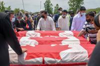 Ratusan Orang Hadiri Pemakaman Keluarga Muslim Korban Pembunuhan Kebencian di Kanada