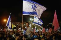 Warga Israel Berpesta, Rayakan Lengsernya Pemerintahan Netanyahu