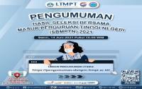 Hasil SBMPTN Diumumkan Hari Ini Pukul 15.00 WIB, Cek di Sini