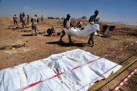 Kuburan Massal 123 Korban ISIS Terungkap, Dibawa ke Jurang dan Ditembak Mati
