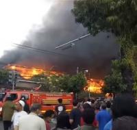 Pasar Blahbatuh di Gianyar Bali Terbakar, Ratusan Lapak Pedagang Ludes