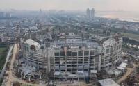 Pengangkatan Atap Buka Tutup Stadion JIS, Anies: Ini Satu-satunya di Asia