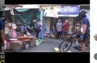 Bersepeda ke Pecinan, Ganjar ke Warga: Masker Jangan Didagu dan Dikalungkan