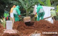 Pemakaman Jenazah Covid-19 di Bandung Raya Capai 25 Perhari