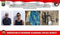 89 Kg Sabu dan 48 Ribu Pil Ekstasi Disita dari Komplotan Narkoba Bersenjata AK47 & M16