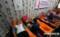 Sambut HUT DKI Jakarta Ke-494, Kecamatan Tanah Abang Gelar Donor