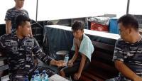 TNI AL Selamatkan Pelajar Terapung di Tengah Laut Selama 3 Jam di Perairan Banten