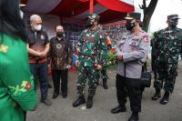 Usai dari Bangkalan, Panglima dan Kapolri Sidak Kampung Tangguh Jaya di Jaktim