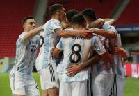 Hasil Copa America 2021: Kalahkan Uruguay 1-0, Argentina Raih 3 Poin Perdana