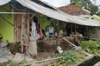 Sejumlah Rumah di Indramayu Rusak Akibat Tanah Amblas