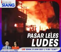 Pasar Leles Ludes, Saksikan Selengkapnya di iNews Siang Senin Pukul 11.00 WIB