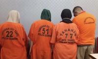 4 Pelaku Peredaran Narkoba Ditangkap di Palembang, Ternyata Masih Satu Keluarga