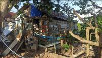 Nestapa Mukmin, Pelaut Asal Pangkal Pinang yang Tinggal di Gubuk Reyot Tiga Kali Roboh