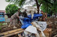 Ratusan Lapak PKL di Villa Bogor Indah Dibongkar Petugas Satpol PP