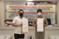 Bekerja Sama dengan Polri, Pemprov DKI Jakarta Hadirkan AJIB di Kampung Tangguh Jaya