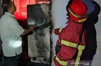 Kebakaran Melanda Ruang Administrasi Lapas Meulaboh Aceh