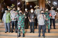 Kunjungi Jepara, Pangdam IV Diponegoro dan Kapolda Jateng <i>Backup</i> Penanganan Covid-19