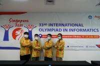4 Siswa Ini Wakili Indonesia di Ajang Kompetisi Informatika Internasional