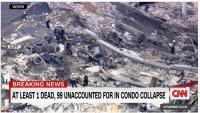 Gedung Runtuh, 1 Tewas, 100 Orang Belum Ditemukan