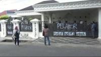 Viral Rumah Mewah di Palembang Dicoret Tulisan Pelakor