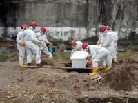 Cerita Makhluk Misterius di Tengah Pemakaman Jenazah Covid-19