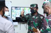 Panglima TNI Tinjau Kesiapan Tempat Isolasi Terpusat di Bantul