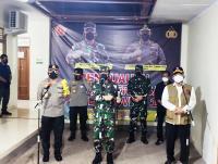 Ketua Satgas Covid-19 Tinjau RS Lapangan Bambanglipuro, Apresiasi Pemkab dan Forkopimda Bantul