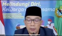 Ridwan Kamil : Jabar Paling Rawan Covid-19, 50 Juta Jiwa Harus Diselamatkan