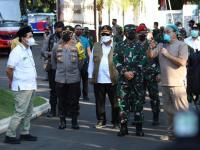 Panglima TNI dan Kabaharkam Polri Tinjau Tempat Isolasi Terpusat di Semarang