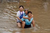 Korban Tewas Banjir China Bertambah jadi 69 Orang, 5 Masih Hilang