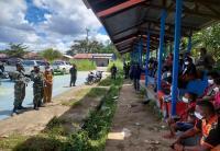 Usai Kontak Tembak Dengan OPM, Danrem 182/JO Instruksikan Kawal Kepulangan 96 Pengungsi dari Kampung Mayerga