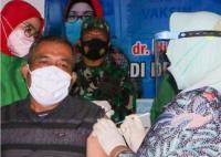 Tolak Vaksinasi, Kepala Desa Jenar di Sragen Dijadikan Duta Vaksin Covid-19