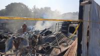 Kebakaran Gudang Gas di Kembangan, 4 Ruko Ludes Terbakar