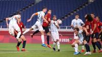 Diimbangi Argentina, Spanyol Tetap Lolos ke Perempatfinal Olimpiade Tokyo 2020