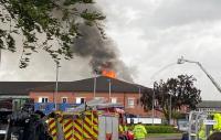 Rumah Sakit Kebakaran Usai Tersambar Petir, 66 Pasien Dievakuasi