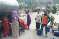 Musim Kemarau, Ribuan Warga Mojokerto Krisis Air Bersih