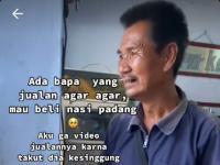 Viral Penjual Agar-Agar Beli Nasi Padang Rp5 Ribu