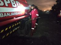Upaya Pemadaman Karhutla Terus Dilakukan, BPBD Kota Banjarbaru Turunkan Mobil Water Supply