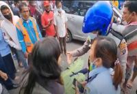 Pegawai Imigrasi Kelas II Belawan Tewas Terlindas Truk Kontainer di Jalan Komor Laut Yos Sudarso