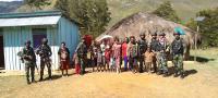 Satgas Yonif 751 Berikan Pengobatan Gratis Kepada Masyarakat Lanny Jaya, Papua