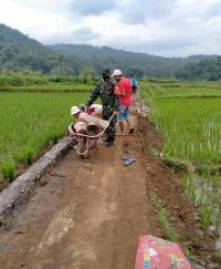 Jalan Pertanian di Ciamis Dongkrak Produktivitas Petani