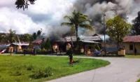 Polsek Nimboran Dibakar Massa, Polda Papua: Mari Jaga Kamtibmas