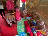 Enrekang Police Care dan Baznas Bersinergi Bantu Fauzul untuk Operasi Tumor Otak