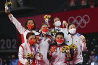 Klasemen Sementara Perolehan Medali Olimpiade Tokyo 2020, Selasa 3 Agustus 2021 pukul 15.30 WIB: Indonesia Posisi 37